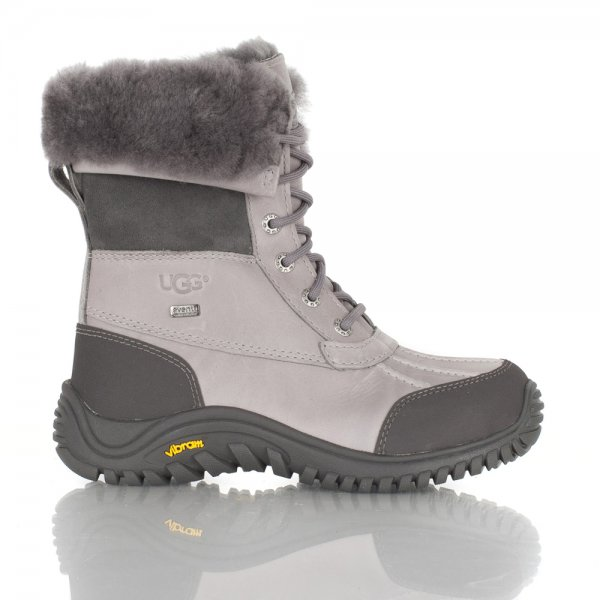 Grey Adirondack Womens Ankle Boot