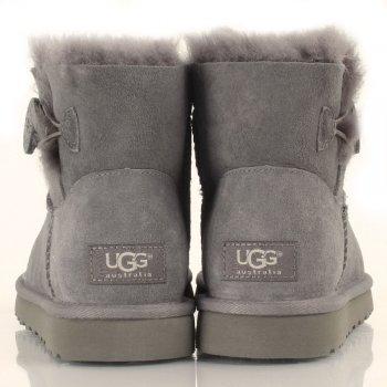 Grey Mini Bailey Button Women's Boot