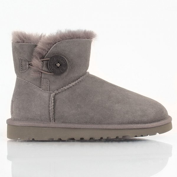 Grey Mini Bailey Button Women's Boot