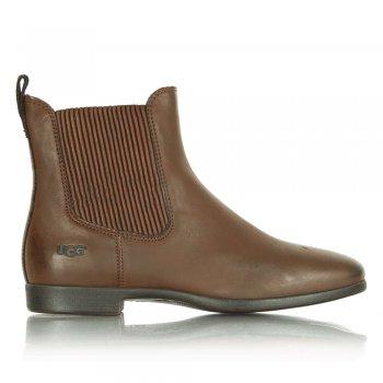 Ugg 174 Jo Women S Chocolate Leather Chelsea Boot