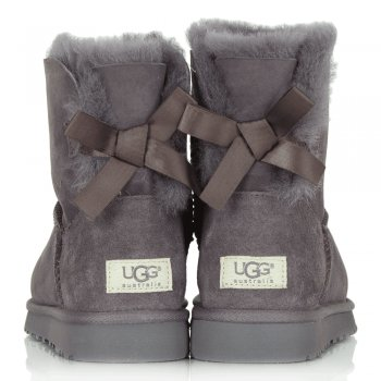 ... Locomotive Grey Women039s Mini Bailey Bow Boot ... ugg womens ...