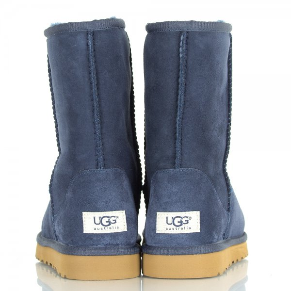08913df321b Navy Classic Short Women's Sheepskin Boot