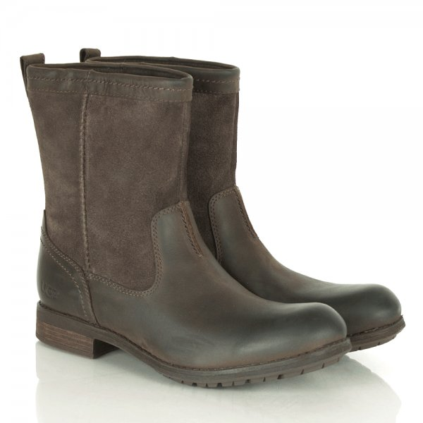 Lerette Mens Brown Pull On Calf Boot