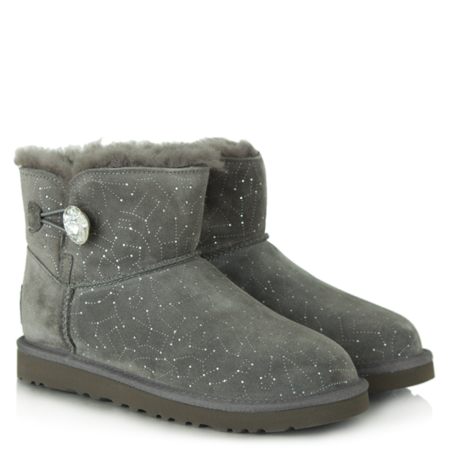 f40cff312d4 Mini Bailey Bling Grey Suede Constellation Boot