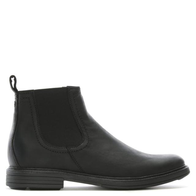 UGG Men's Baldvin Black Suede Chelsea Boots