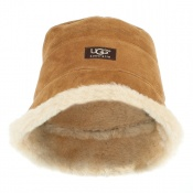 476f415bdb7 UGG® City Bucket Tan Suede Hat