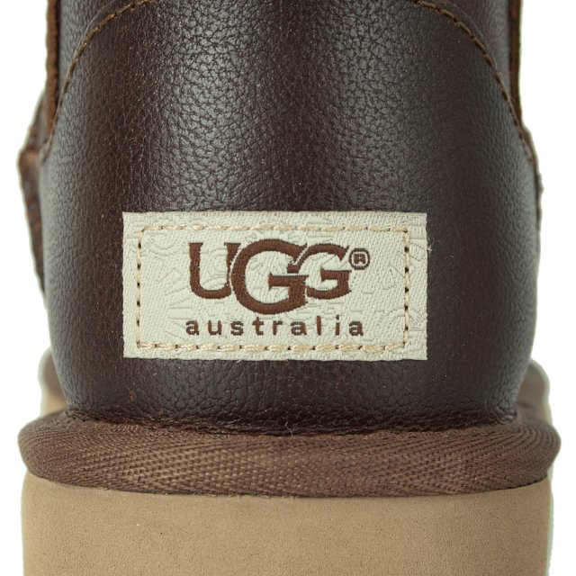 149a3970105 Classic Mini Zip Brown Leather Boot
