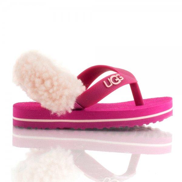 0ebb75bdab36 UGG® Fruit Punch Baby Pink Yia Yia Kids Flip Flop - Kids from Daniel ...
