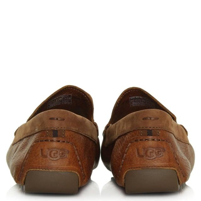 1809fd4331b Henrick Chestnut Leather Driving Shoe