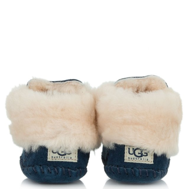 588e2acc8fe Kid's Sparrow New Navy Suede Moccasin Boot