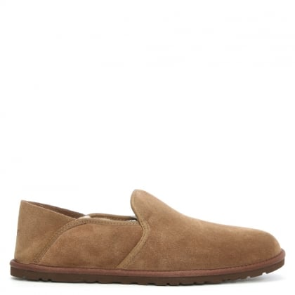 UGG Men's Cooke Dark Chestnut Loafer Slipper