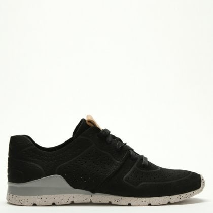 36c5e240ecf Tye Black Leather Trainers