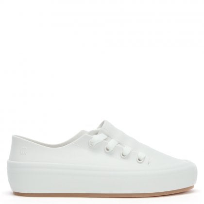 Ulitsa White Lace Sneakers