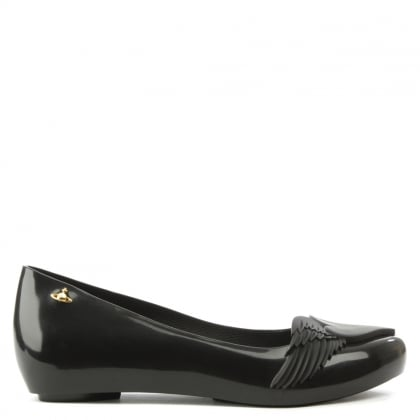 Ultragirl Cherub Black Ballet Pump