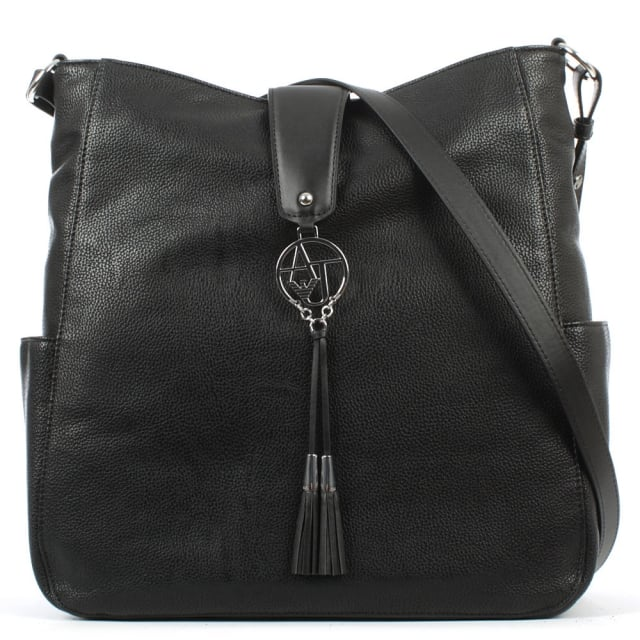 Vachetta Black Shoulder Bag