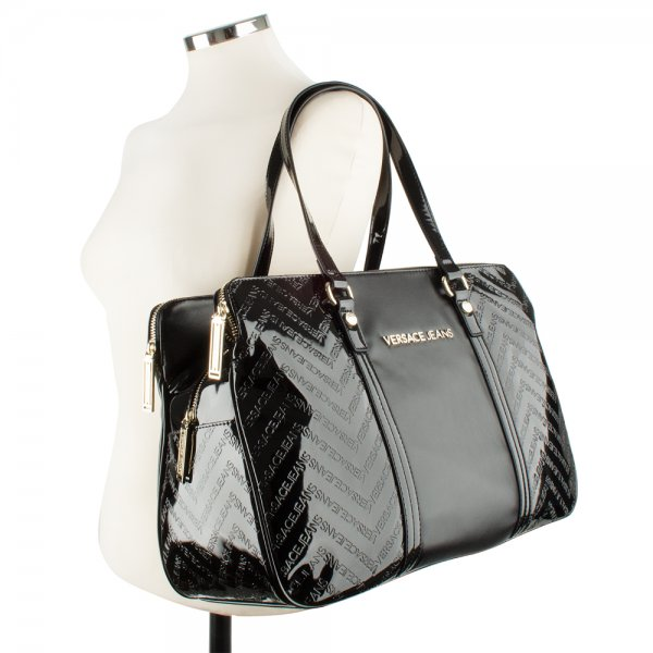 16870a1949 Versace Jeans Black E1VFBBL8 Women's Shoulder Bag