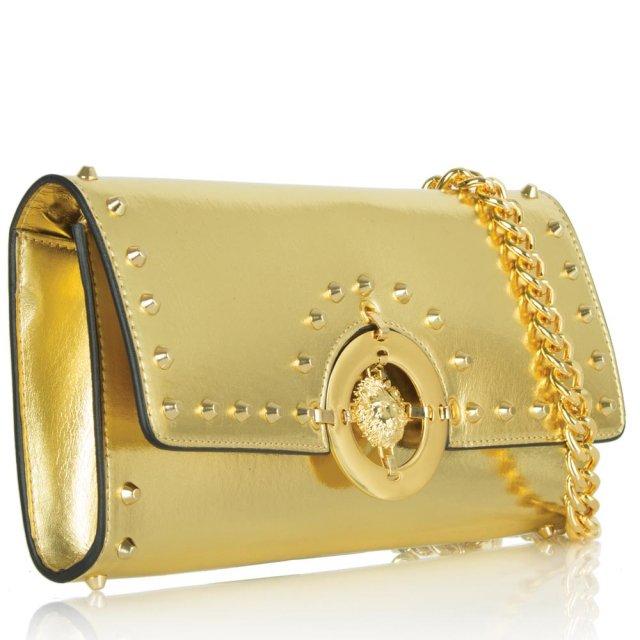 5c88a4d717 Gold Bobby Clutch Bag