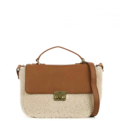 Vivienne Tan Leather Sheepskin Satchel