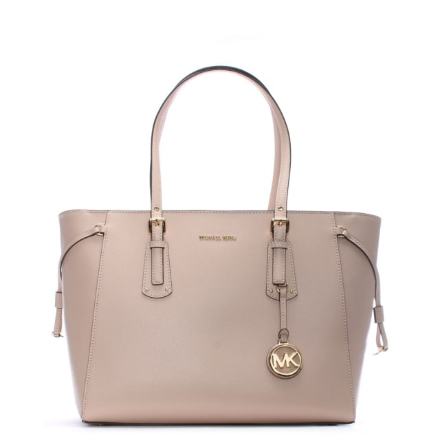 7321213c2f73 Michael Kors Voyager Soft Pink Saffiano Leather Tote Bag