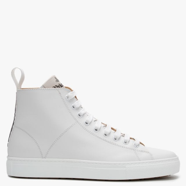 Vivienne Westwood White Leather High