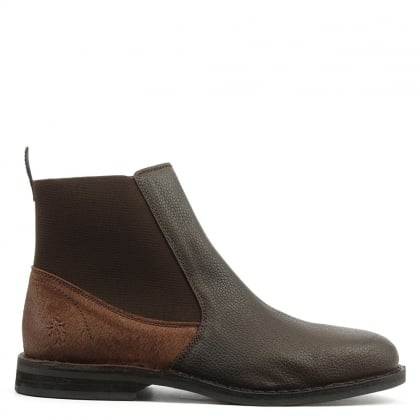 Wack Brown Leather Chelsea Boot
