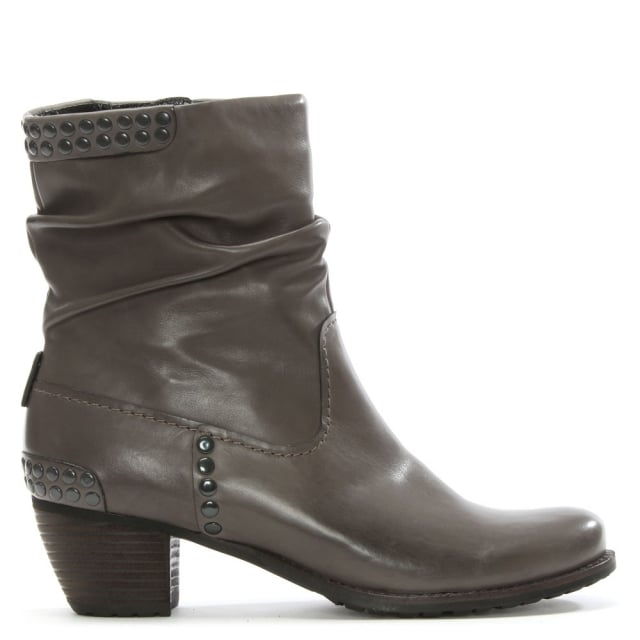 Westbourne Grey Leather Ankle Boot