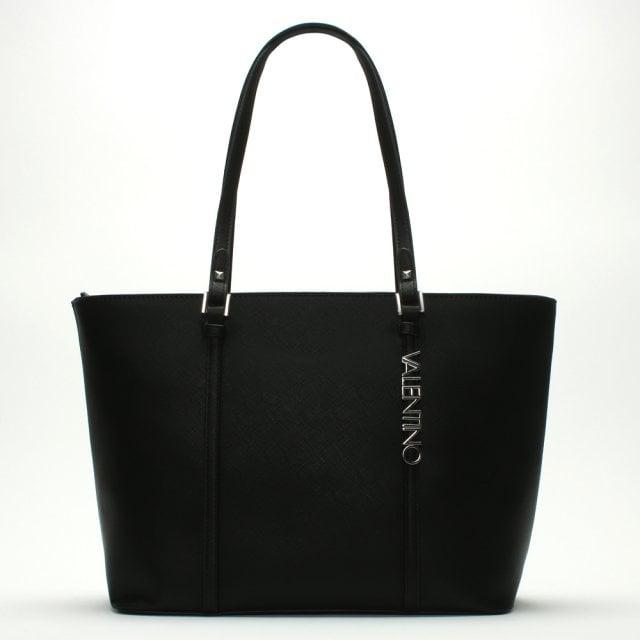 Valentino By Mario Valentino Winter Black Logo Tote Bag f556e671b7055