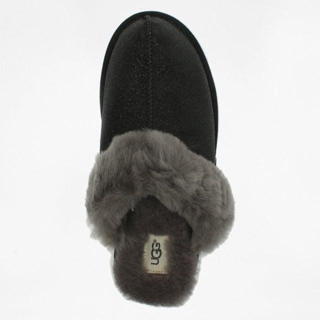 0a2fc34a0ea6 UGG Women's Scuffette II Sparkle Black Slippers