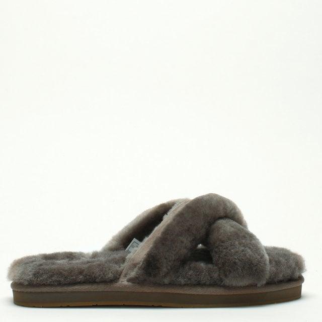 64ddb62dd23 Women's Abela Slate Sheepskin Slippers