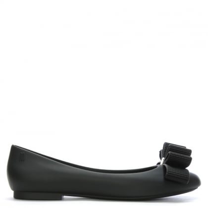 x Jason Wu Black Doll Bow Ballet Flats