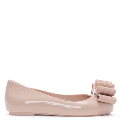 x Jason Wu Kid's Blush Bow Ballet Pumps