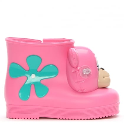 x Jeremy Scott Kid's Pink Mini Monkey Booties