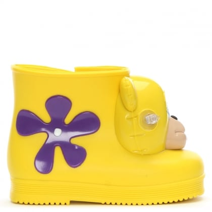 x Jeremy Scott Kid's Yellow Mini Monkey Booties