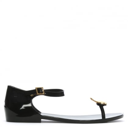 x Melissa Honey Black Orb Sandals
