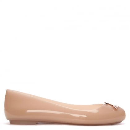 x Melissa Space Love Blush Orb Ballerina Flats