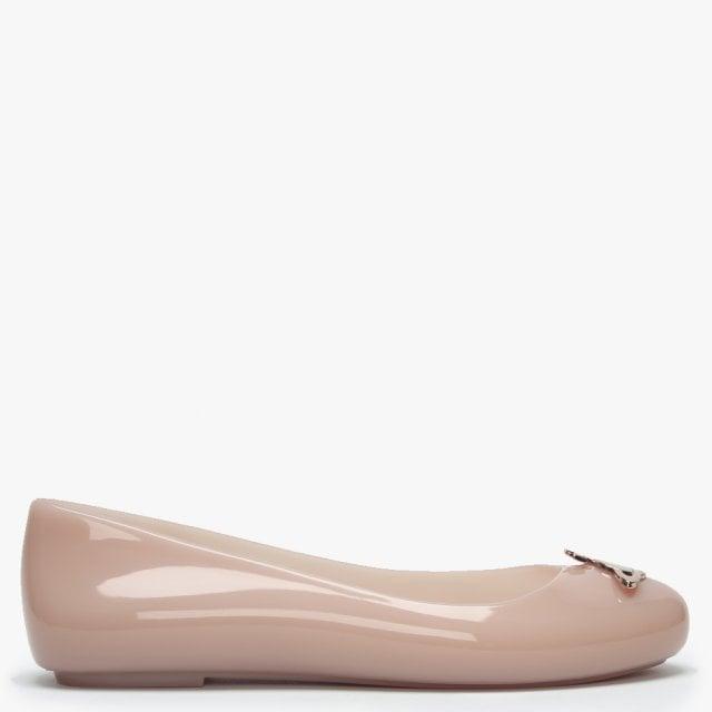 20db9f0d482 Vivienne Westwood x Melissa Space Love Nude Orb Ballet Pumps