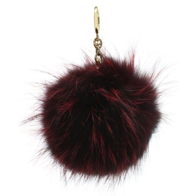 d56e972ca7 XXL Mulberry Fur Pom Pom Keyring super cheap c8530 5af81  NWT Michael Kors  Key Charms Black XXL Fur Pom Pom Bag Charm ...