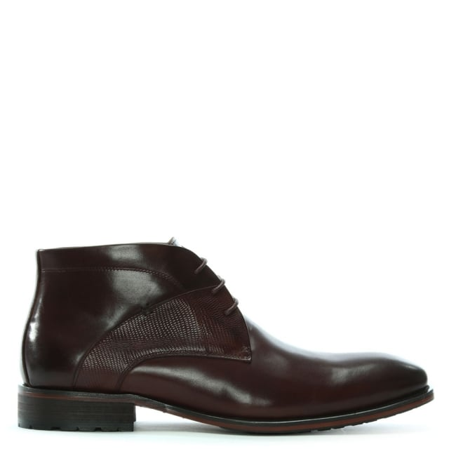 Yarcombe Brown Leather Ankle Boots
